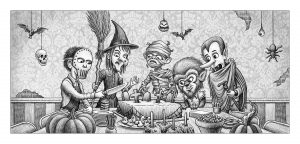 Cake Killer | Gary Potts Illustration