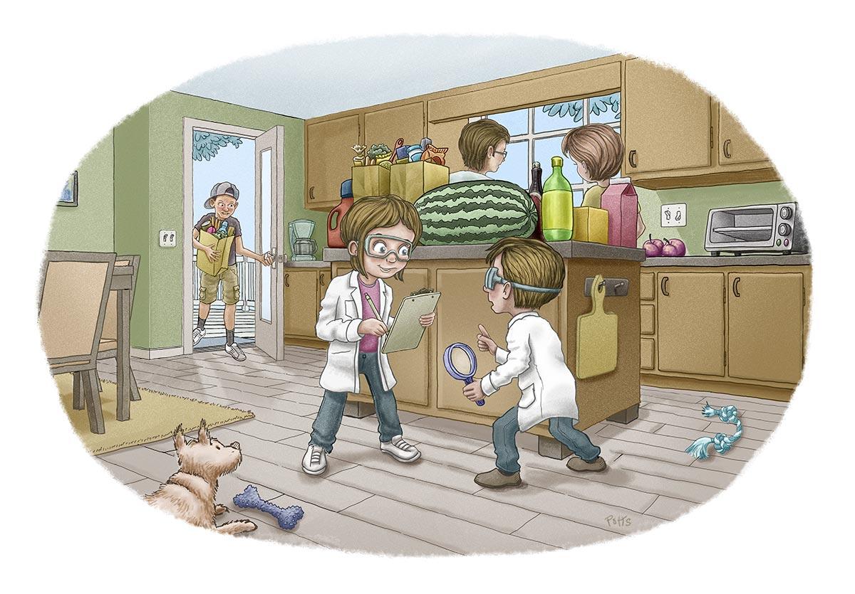 Delivery | Gary Potts Illustration
